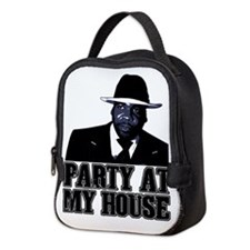 Kwame - Party At My House! Neoprene Lunch Bag