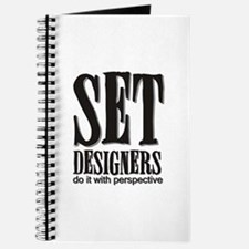 Set Designers do it with Pers Journal