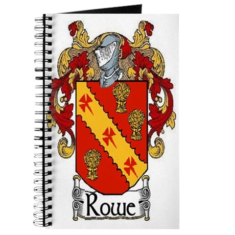 Rowe Coat of Arms Journal