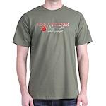 Kiss a Trucker Dark T-Shirt