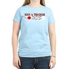 Kiss a Trucker T-Shirt