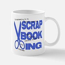 Scrapbooking - Blue Mug