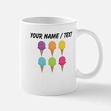 Custom Colorful Waffle Cones Small Mug