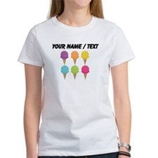 Custom Colorful Waffle Cones T-Shirt