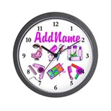 Beauty salon Wall Clocks