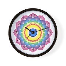 Crown Chakra Wall Clock