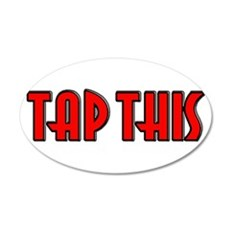 TAP RED.jpg Wall Decal
