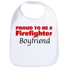 Proud Boyfriend: Firefighter Bib