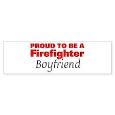 Proud Boyfriend: Firefighter Bumper Bumper Sticker