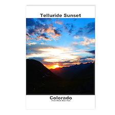 Postcards (8) - Telluride Sunset