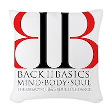 Back II Basics Woven Throw Pillow