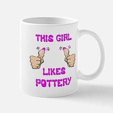 This Girl Likes Pottery Mug