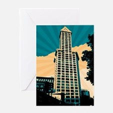 Smith Tower, Seattle Greeting Cards