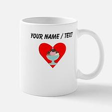 Custom Ice Cream Sundae Heart Small Mug