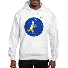 Clowny Mime Bear [blue 2] Hoodie