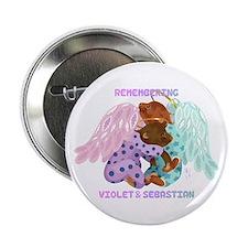 "Violet and Sebastian 2.25"" Button"