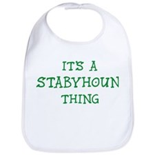 Stabyhoun thing Bib
