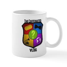 Vlog Shield Small Mug