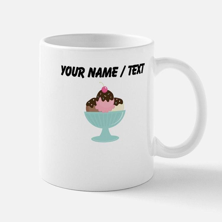 Custom Ice Cream Sundae Small Mug