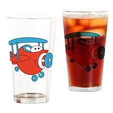 Chubby Plane Drinking Glass