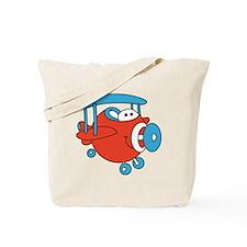 Chubby Plane Tote Bag