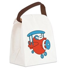 Chubby Plane Canvas Lunch Bag