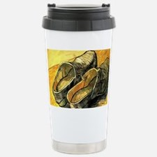 Van Gogh A Pair of Leather Clog Travel Mug