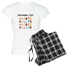 Custom Lots Of Cupcakes pajamas