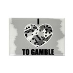 I LOVE TO GAMBLE Rectangle Magnet (100 pack)