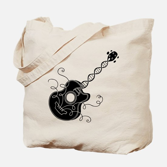 Music in the DNA Tote Bag