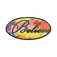believe color chalk Patches