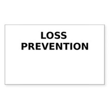 Loss Prevention Decal