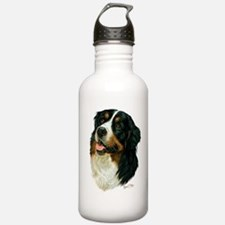 Unique Bernese mountain dog puppy Water Bottle
