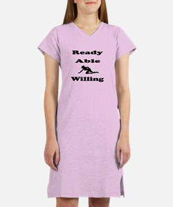Ready Able Willing Women's Nightshirt