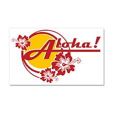 Aloha Car Magnet 20 x 12