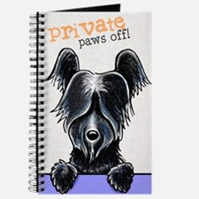Skye Terrier PAWS OFF Journal