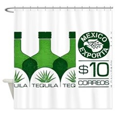 1992 Mexico Tequila Export Postage Stamp Shower Cu