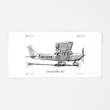 Cessna 172 Aluminum License Plate