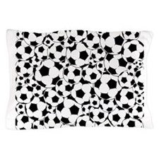 Soccer ball pattern Pillow Case