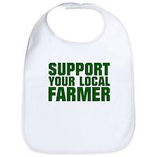 Support Your Local Farmer Bib