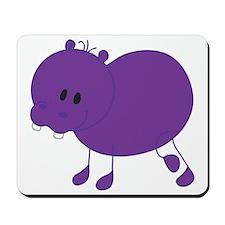 Stickfigure Hippo Mousepad