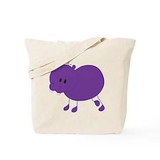 Stickfigure Hippo Tote Bag