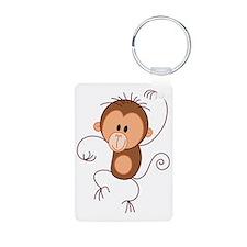Stickfigure Monkey Keychains