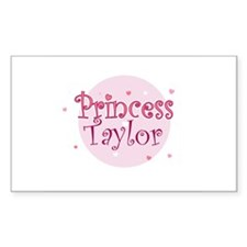 Taylor Rectangle Decal