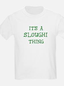 Sloughi thing Kids T-Shirt