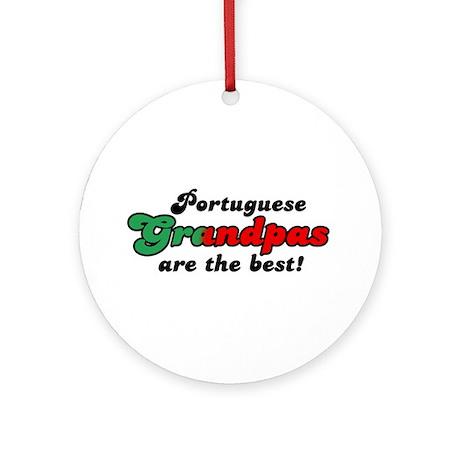 Portuguese Grandpas Ornament (Round)