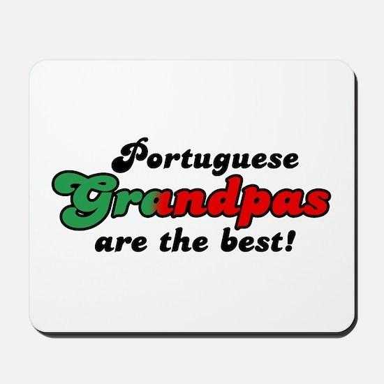 Portuguese Grandpas Mousepad