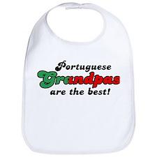 Portuguese Grandpas Bib