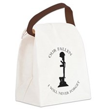 Our Fallen Canvas Lunch Bag