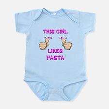 This Girl Likes Pasta Infant Bodysuit